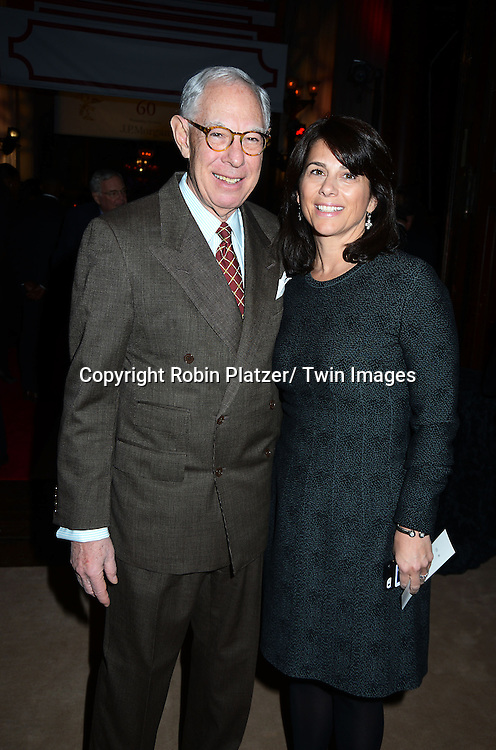Arie Kopelman and Kelly C Coffey attend the 60th Annual Winter Antiques Show Opening Night Party on January 23, 2014 at The Park Avenue Armory in New York City. The Show benefits The East Side House Settlement.