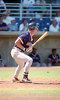 Boston Red Sox Scott Cooper during Spring Training 1993 at City of Palms Park in Fort Myers, Florida.  (MJA/Four Seam Images)