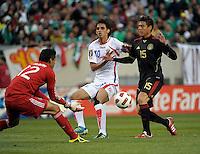 Mexico vs Costa Rica, June 12, 2011