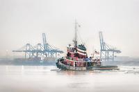 Baltimore Harbor Tug Boat
