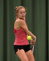 March 14, 2015, Netherlands, Rotterdam, TC Victoria, NOJK, Nicole van Ginkel (NED)<br /> Photo: Tennisimages/Henk Koster