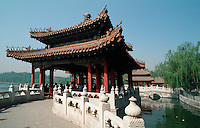 China, Peking, 5-Drachen-Pavillon im Beihai Park