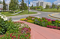 University of Alaska Fairbanks campus, Fairbanks, Alaska.