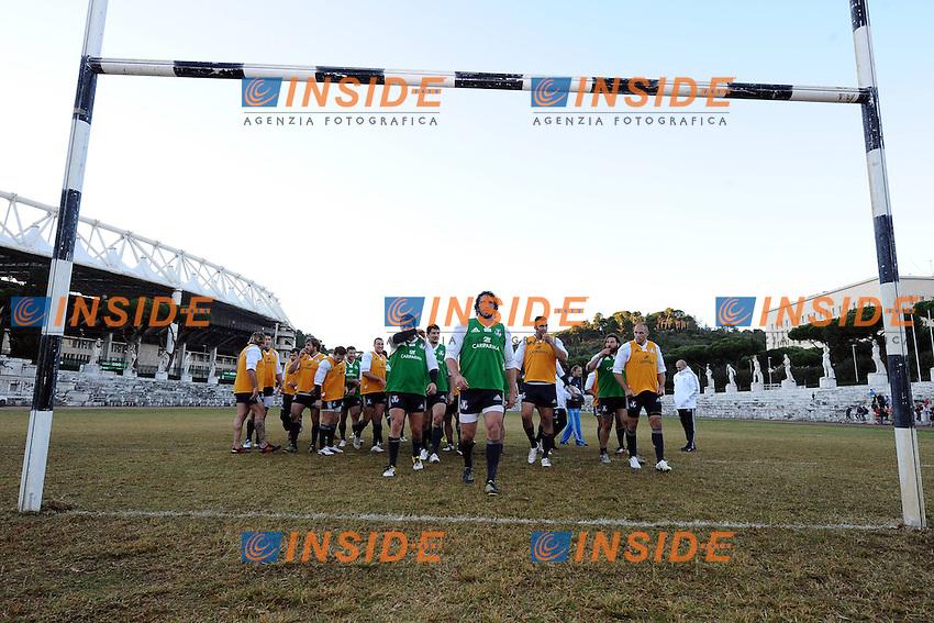 29/10/2012 Roma, Stadio dei Marmi..Allenamento della Nazionale Italiana di Rugby.Foto Antonietta Baldassarre / Insidefoto .Training of Italian national team of Rugby to prepare Test matches..