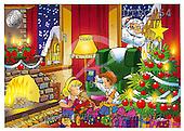 Eberle, Comics, CHRISTMAS SANTA, SNOWMAN, paintings, DTPC54,#X# Weihnachten, Navidad, illustrations, pinturas