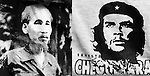 Ho Chi Minh and Che Guevara - Ho Chi Minh and Che Guevara printed on T-shirts in a shop in Saigon, Viet Nam