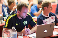 Orlando, FL - Friday Oct. 14, 2016:   during a US Soccer Coaching Clinic in Orlando, Florida.