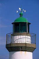 Europe/France/Bretagne/56/Morbihan/Belle-île/Le Palais: Détail d'un des phares du port