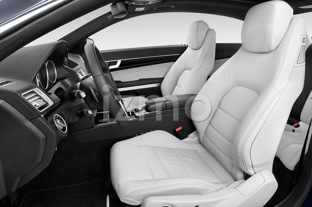 Front seat view of2013 Mercedes Benz E Class 220 2 Door Coupe Front Seat car photos