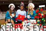 Mercy Mounthawk Transitional Year Students Aimee Maher, Unity Ankomah and Erin Fitzgibbon with their Enterprise Project Seasonal Gifts  at the Arty Bits Christmas Craft Fair in the Fels Point Hotel on Sunday