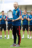 Andres Iniesta the Medal of Merit for Sports. June 5,2018.(ALTERPHOTOS/Acero) /NortePhoto.com NORTEPHOTOMEXICO