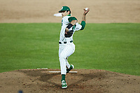 Charlotte 49ers relief pitcher Nick Turnbull (29) in action against the Appalachian State Mountaineers at Atrium Health Ballpark on March 23, 2021 in Kannapolis, North Carolina. (Brian Westerholt/Four Seam Images)