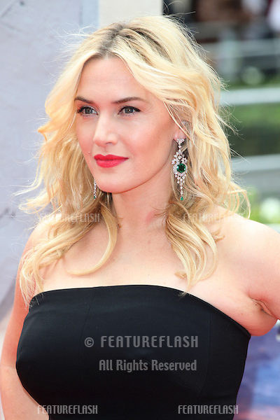 Kate Winslet arriving at the Divergent UK Premiere, at Odeon Leicester Square, London. 30/03/2014 Picture by: Alexandra Glen / Featureflash