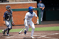 Duke Blue Devils center fielder Joey Loperfido (36) at bat against the Liberty Flames in NCAA Regional play on Robert M. Lindsay Field at Lindsey Nelson Stadium on June 4, 2021, in Knoxville, Tennessee. (Danny Parker/Four Seam Images)