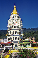 Kek Lok Si Temple, Penang, West Malaysia. Malaysia's largest Buddhist Temple.