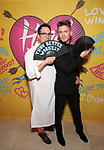 Michael Mayer and Spencer Liff attends the Opening Night Performance After Party for  'Head Over Heels' at Gustavino's  on July 26, 2018 in New York City.