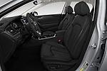 Front seat view of a 2018 Hyundai Sonata Limited 4 Door Sedan front seat car photos