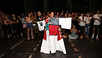 """During the Broadway Opening Night Legacy Robe Ceremony honoring Bahiyah Hibah for  """"Moulin Rouge! The Musical"""" at the Al Hirschfeld Theatre on July 25,2019 in New York City."""