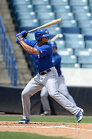 Toronto Blue Jays outfielder Josh Almonte (83) during an Instructional League game against the New York Yankees on September 24, 2014 at George M. Steinbrenner Field in Tampa, Florida.  (Mike Janes/Four Seam Images)