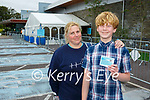 Reilly Scott South Africa and his mum Catherine Scott Kilcummin were happy to his vaccine in Killarney on Tuesday