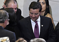 BOGOTÁ -COLOMBIA. 20-07-2017: David Luna, Ministro de Tecnologías de la Información y las Comunicaciones de Colombia, durante la ceremonia de instalación de la legislatura 2017 2018 del Congreso de la República de Colombia realizado hoy, 20 de julio de 2017, en el salón Elíptico del Capitolio Nacional de Colombia en la ciudad de Bogotá. / David Luna, Minister of Information Technologies and Communications of Colombia, during the ceremony of installation of the Legistature 2017 2018 of the Congress of the Republic of Colombia made today, July 20 2017, at Ellipptical room of the National Capitol of Colombia in Bogota city. Photo: VizzorImage/ Gabriel Aponte / Staff