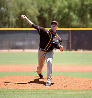 Victor Lizarraga - San Diego Padres 2021 extended spring training (Bill Mitchell)