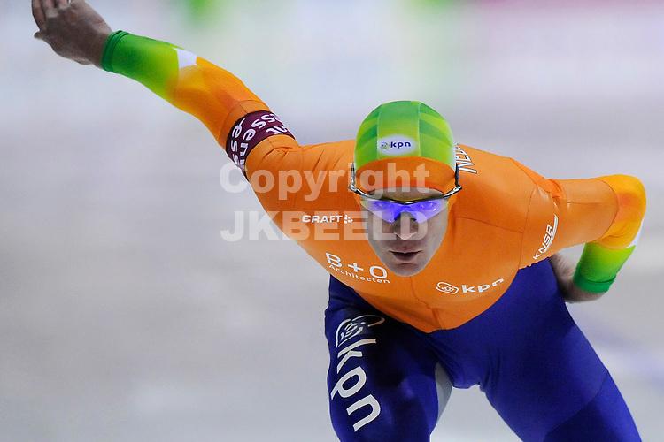 schaatsen world cup 2010-2011 heerenveen 12-11-2010 jan bos