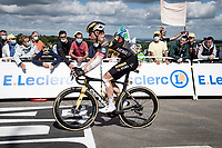 Tony Martin (DEU/Jumbo-Visma) showing the results of yesterdays crash<br /> <br /> Stage 2 from Perros-Guirec to Mûr-de-Bretagne, Guerlédan (184km)<br /> 108th Tour de France 2021 (2.UWT)<br /> <br /> ©kramon