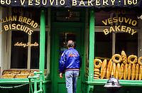 The Vesuvio Bakery in New York City, USA