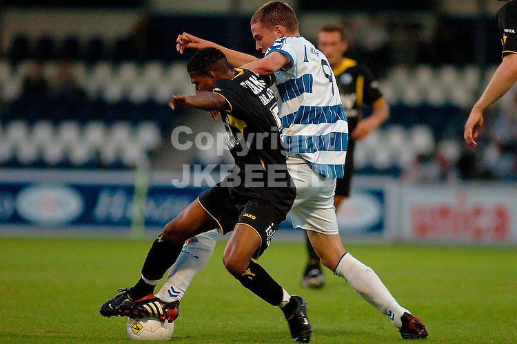 fc zwolle - den bosch gouden gids divisie seizoen 2005-2006 29-08-2005 duel tussen ijzerman en rimkus