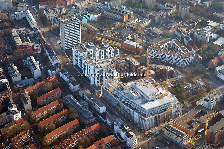 Hamburg Altona Ikea: EUROPA, DEUTSCHLAND, HAMBURG, (EUROPE, GERMANY), 31.12.2013: IKEA Gebaeude in Hamburg Altona
