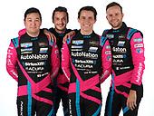 #86 Meyer Shank Racing w/Curb-Agajanian Acura NSX GT3, GTD: Mario Farnbacher, Matt McMurry, Shinya Michimi, Jules Gounon portrait