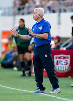 Tom Sermanni.  The USWNT defeated Brazil, 4-1, at an international friendly at the Florida Citrus Bowl in Orlando, FL.