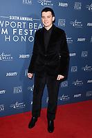 Asa Butterfield<br /> arriving for the Newport Beach Film Festival UK Honours 2020, London.<br /> <br /> ©Ash Knotek  D3551 29/01/2020