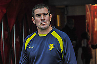 Burton Albion's manager Nigel Clough during the Sky Bet League 1 match between Fleetwood Town and Burton Albion at Highbury Stadium, Fleetwood, England on 15 December 2018. Photo by Stephen Buckley / PRiME Media Images.