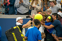 Sept. 5, 2021, New York, NY, USA<br /> Botic Van De Zandschulp (NED) in his match against Diego Schwartzman (ARG) on day six of the 2021 US Open.