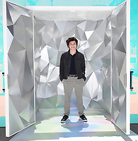 """SANTA MONICA, CA - JUNE 11: Anthony Turpel poses for a photo at a special photo-activation in honor of Pride Month and the Season 2 premiere of the Hulu Original Series """"Love, Victor,"""" on June 11, 2021 in Santa Monica, California. (Photo by Frank Micelotta/Hulu/PictureGroup)"""