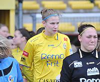 1/2 Halve finale Beker van Belgie ; Waasland Beveren Sinaai Girls - Standard Femina de Liege :  Justine Vanhaevermaet.foto DAVID CATRY / Vrouwenteam.be