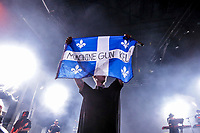 Machine Gun Kelly performs at the Festival d'ete de Quebec (Quebec Summer Festival) on July 12, 2018.