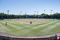 STANFORD, CA - MAY 29: Sunken Diamond during a game between Oregon State University and Stanford Baseball at Sunken Diamond on May 29, 2021 in Stanford, California.