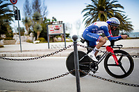 Thibaut Pinot (FRA/Groupama-FDJ)<br /> <br /> Final stage 7 (ITT) from San Benedetto del Tronto to San Benedetto del Tronto (10.1km)<br /> <br /> 56th Tirreno-Adriatico 2021 (2.UWT) <br /> <br /> ©kramon