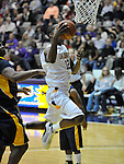 13 December 2008: Scotty McRae of Albany goes for a layup during a game between Canisius and Albany won by Albany 74-46 at SEFCU Arena in Albany, New York.