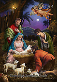 Interlitho-Marcello, HOLY FAMILIES, HEILIGE FAMILIE, SAGRADA FAMÍLIA, paintings+++++,holy family,angels,KL6164,#xr#