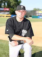 Sean Shoffit of the Lansing Lugnuts during the Midwest League All-Star game.  Photo by:  Mike Janes/Four Seam Images