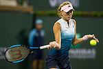 March 9, 2019: Kristina Mladenovic (FRA) was defeated by Naomi Osaka (JPN) 6-3, 6-4 at the BNP Paribas Open at the Indian Wells Tennis Garden in Indian Wells, California. ©Mal Taam/TennisClix/CSM