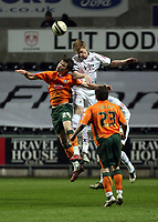 Pictured: Alan Tate of Swansea City in action <br /> Picture by D Legakis / Athena Picture Agency, Swansea, 07815441513