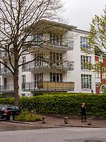 Kreuzung Husumer Str. / Curschmann Str.  in Hamburg-Hoheluft-Ost, Deutschland, Europa<br /> crossroads Husumer Str. / Curschmann Strt. in Hamburg-Hoheluft-Ost, Germany, Europe