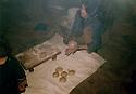Iran 1982 .The bakery in the KDPI hospital of Khedraveh.Iran 1982.La boulangerie de l'hopital du PDKI a Khedraveh