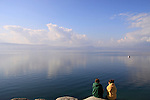 Israel, Kibbutz Ein Gev by the Sea of Galilee