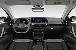 Stock photo of straight dashboard view of 2021 Citroen C4 Shine-Pack 5 Door SUV Dashboard
